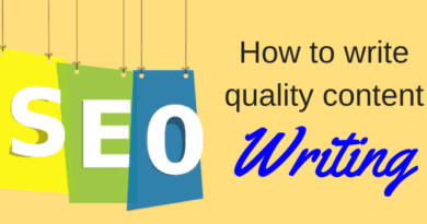 Quality SEO Writing