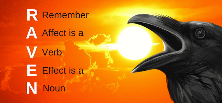 Raven affect effect