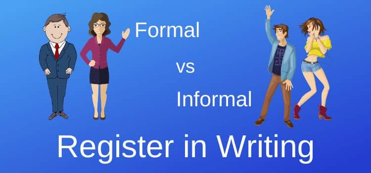 Register in English