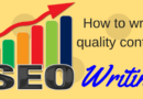 What Is SEO Writing And How It Can Help You Write Better