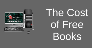 The cost of free pdf books