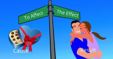 To Affect The Effect