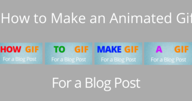 how to make a gif for a blog
