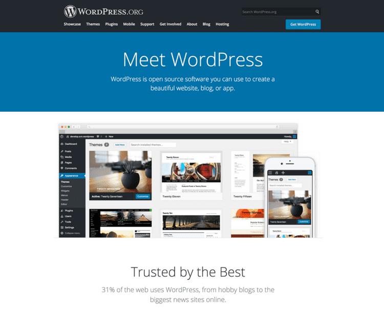 wordpress self hosted