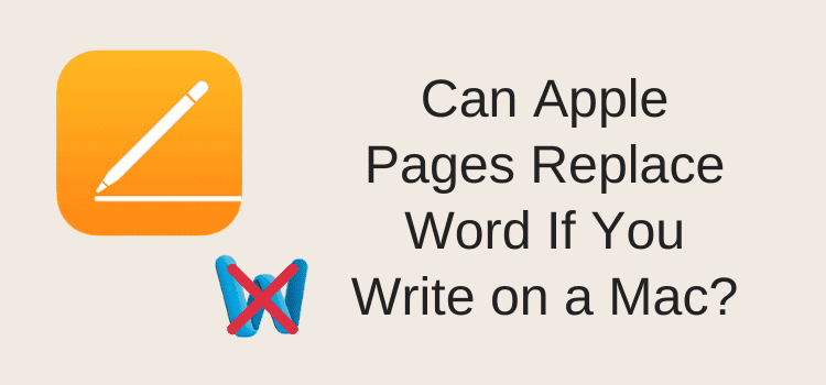 Apple Pages Can Replace Word