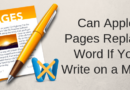 Can Apple Pages Replace Microsoft Word If You Write On A Mac?