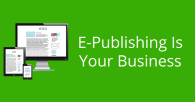 E-publishing Is Your Business