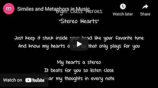 Metaphors in music