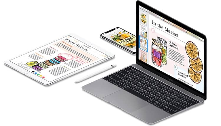 Apple Pages works on all Apple devices and computers