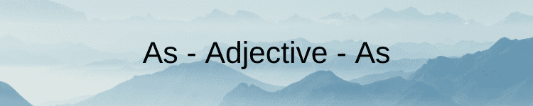as adjective as