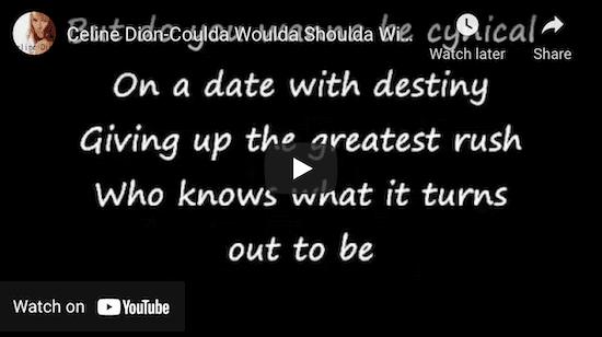Celine Dion Video