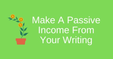 Passive Income From Your Writing