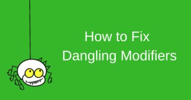Fix dangling modifiers