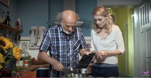 iPad in the kitchen