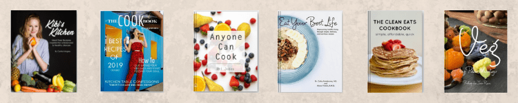 self-publish a cookbook in print