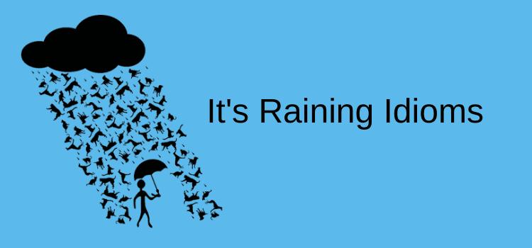 Raining idioms