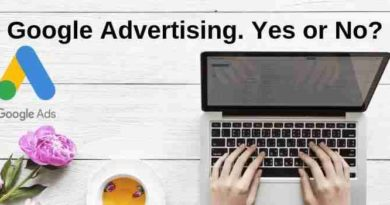 Google Adsense Advertising Yes No