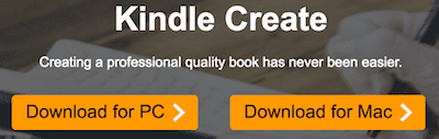 Kindle Create download