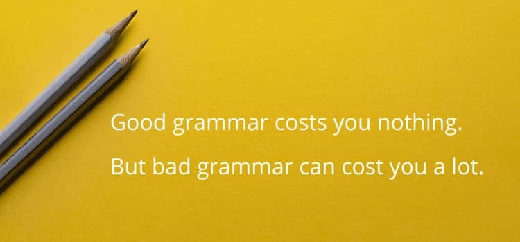 Good Grammar Bad Grammar
