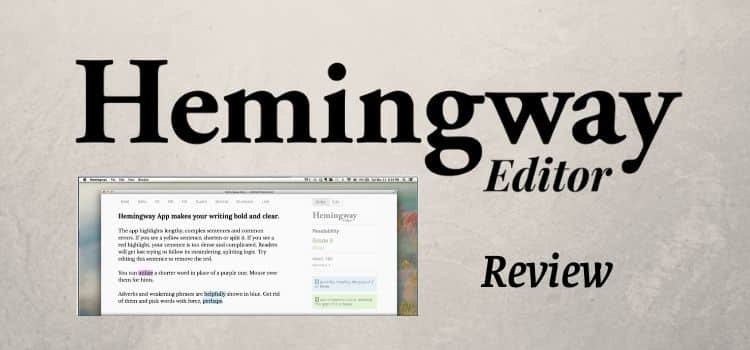 The free hemingway app and writing editor review