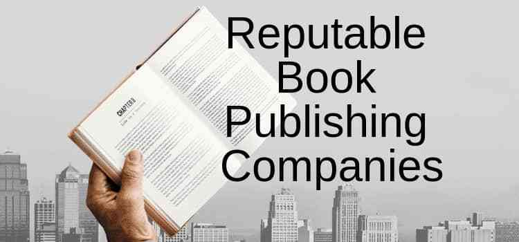 Reputable Book Publishing Companies