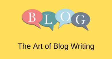 Art of Blog Writing