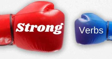 Using Strong Verbs