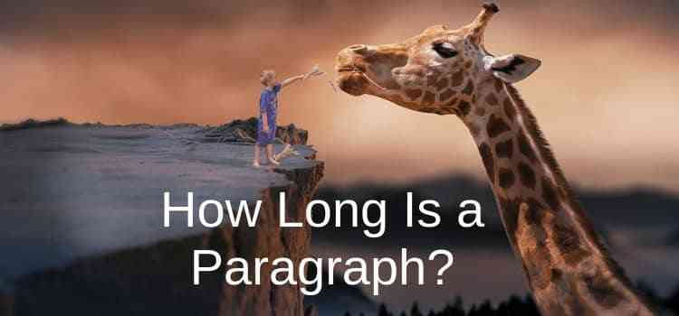 how long is a paragraph