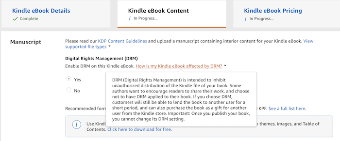 DRM Is The Biggest Threat To Ebooks