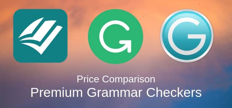 Prowritingaid vs Grammarly vs Ginger Premium Grammar Checkers