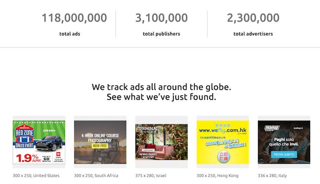 online ad tracker