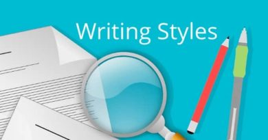 The Writing Styles