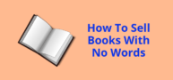 sell a book with no words