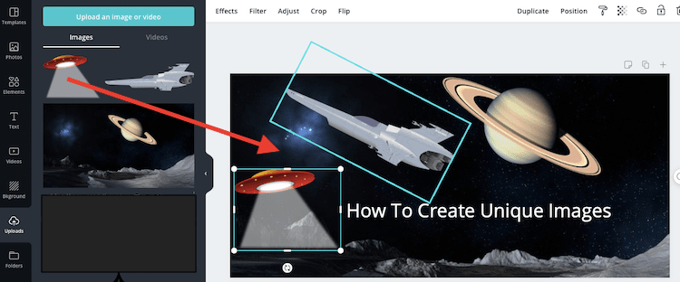 create overlay images