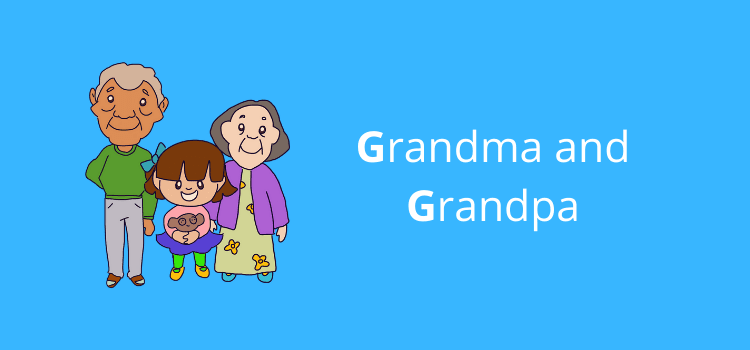 when do you capitalize grandma and grandpa