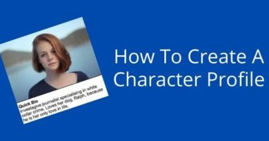 Create A Character Profile