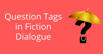 Question Tags in Fiction Dialoge