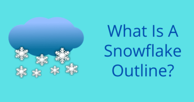 What Is A Snowflake Outline