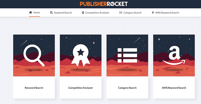 publisher rocket home