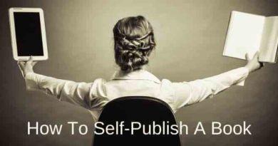 Self Publish A Book