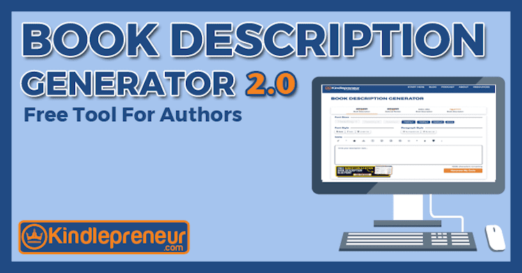 Kindlepreneur Book Description Generator