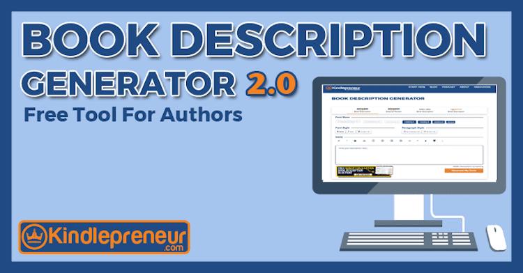 Kindlepreneur Book Description Generator