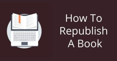 Republish Your Book