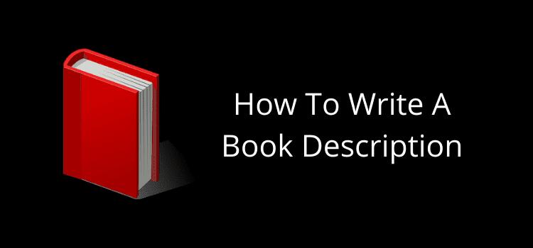 Write A Book Description