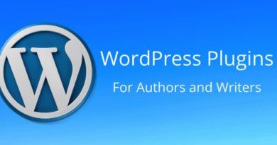 WordPress Plugins for Authors