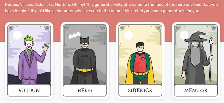 reedsy character name generators