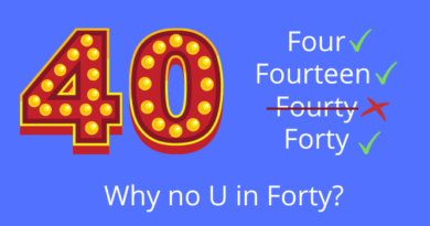 No U In Forty