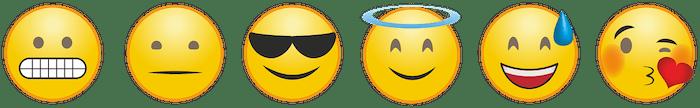 emoticons of emotion