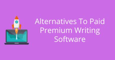 Alternatives To Premium Writing Software