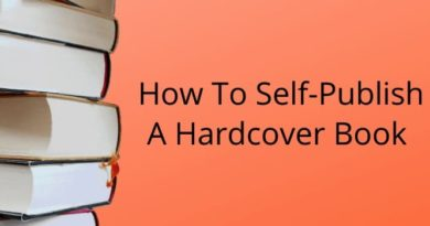 How To Self Publish A Hardcover Book